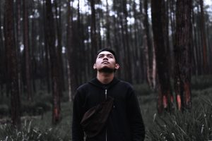 Sean at Samadhi forest